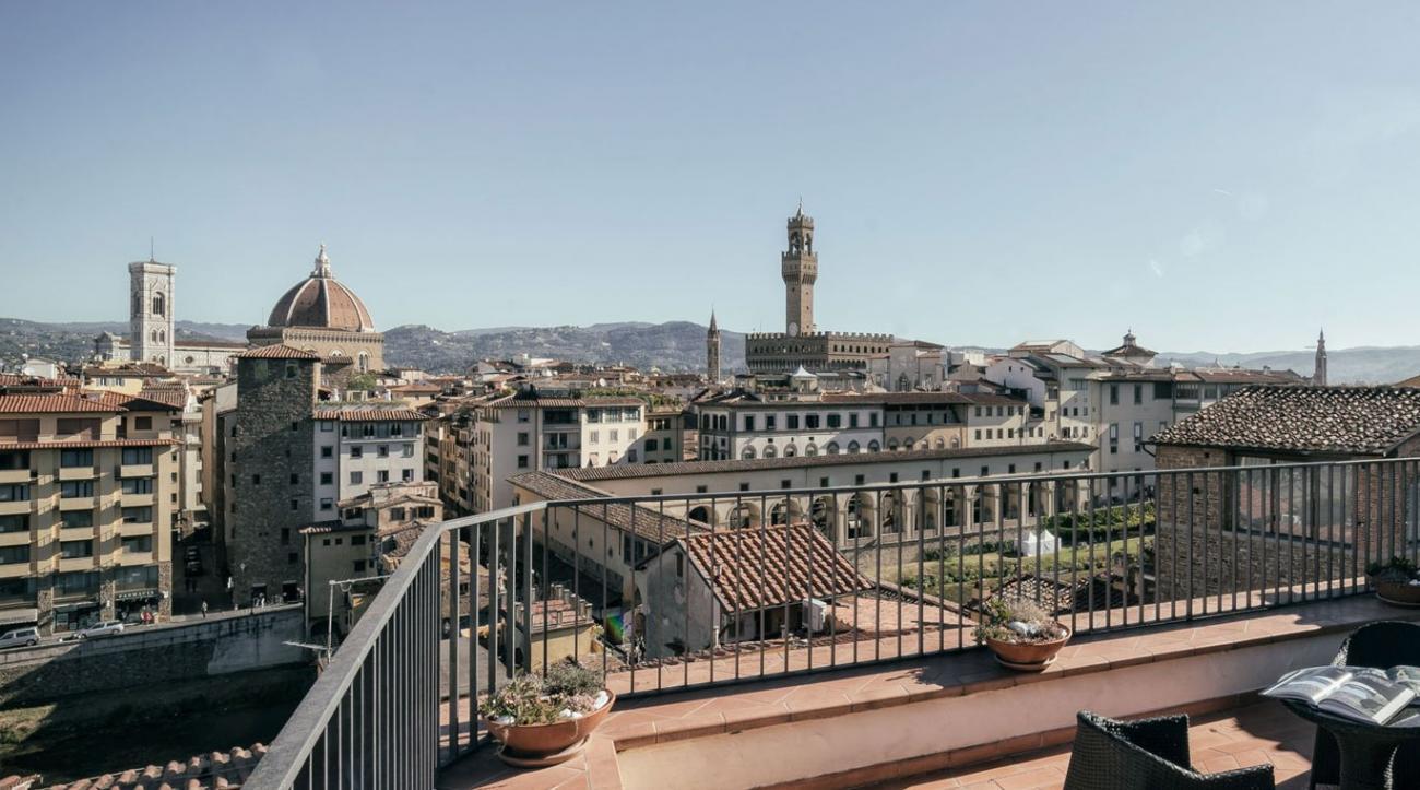 Terrazze Panoramiche E Microsguardi Su Firenze