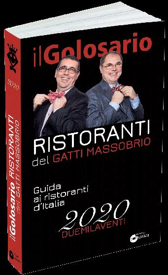 IL GOLOSARIO RISTORANTI DI GATTI-MASSOBRIO, RICCHISSIMA L'EDIZIONE 2020